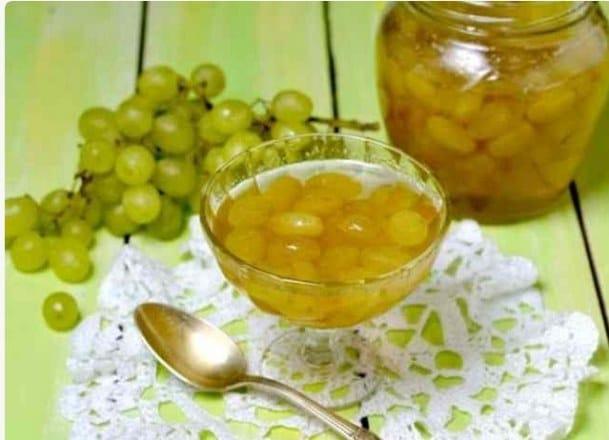 Варенье из винограда Кишмиш на зиму: как сварить самостоятельно, пошаговый рецепт