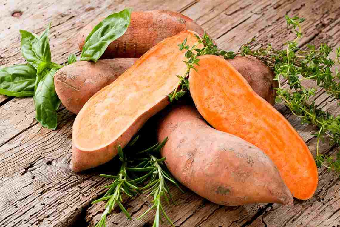 Как называется сладкий картофель